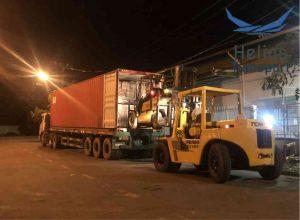 acho thuê xe nâng chuyển kho xưởng trọn gói tại hcm