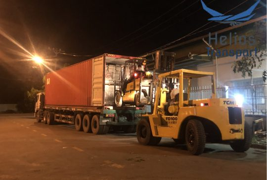 dịch vụ rút container