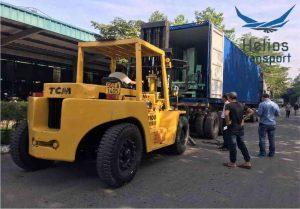 thuê xe nâng chuyển kho xưởng tại hcm