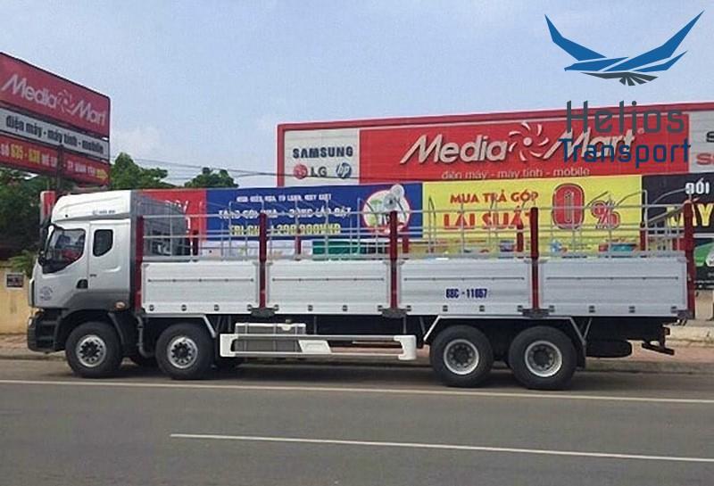 kích thước xe tải 20 tấn